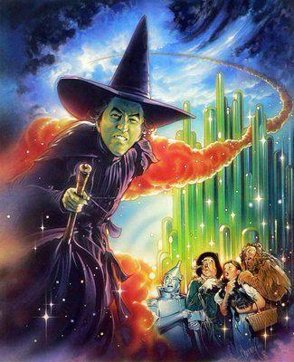 Steve Chorney original art of Wizard of Oz