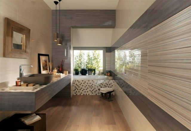 Moderne badezimmer fliesen design ideen schön originell ...