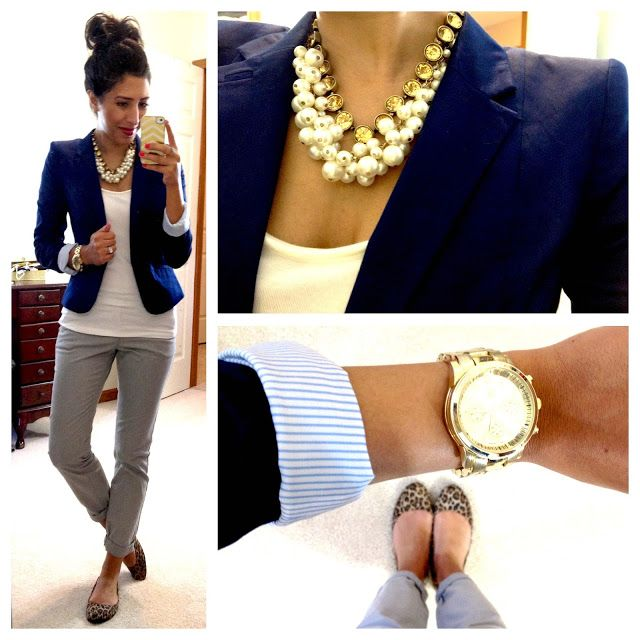 "Another Pinner said, ""This woman posts all of her professional (and surprisingly affordable) outfits on her blog, along with where she bought the pieces. Awesome for business casual inspiration!"""