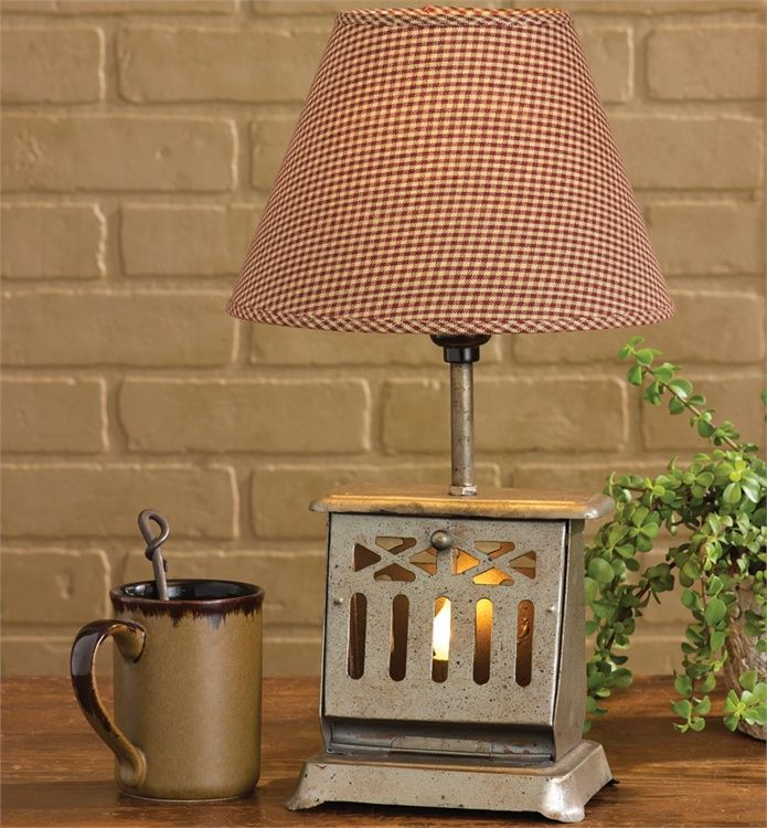 Toaster Table Lamp With Night Light