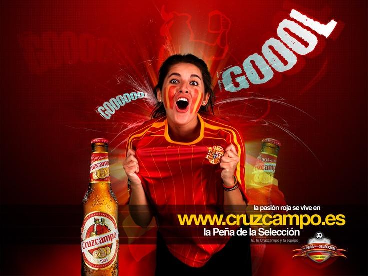 Cruz Campo, my favorite Spanish beer.