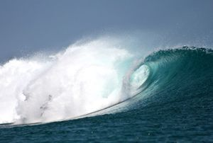 awesome waves at Nemberala