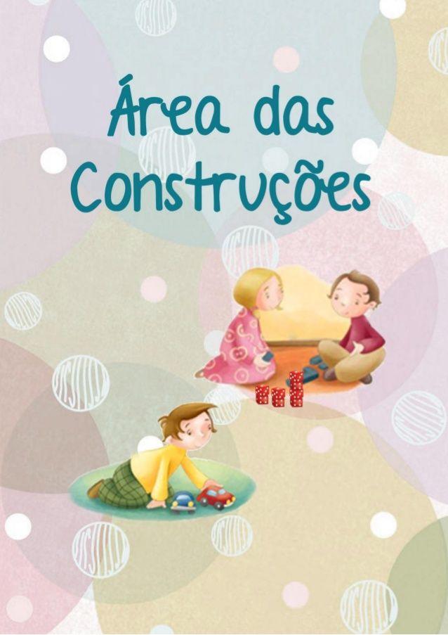 Cartazes áreas Jardim de Infância Mais