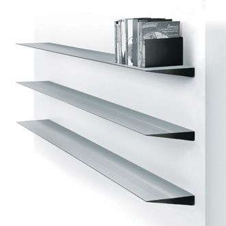 Adrian Meyer Wogg 10 Aluminium Wall Shelves
