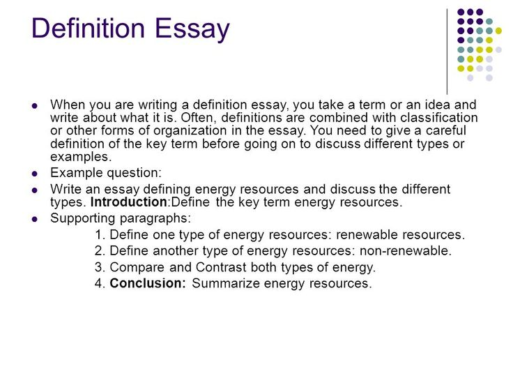 Define And Expository Essay - Performance professional