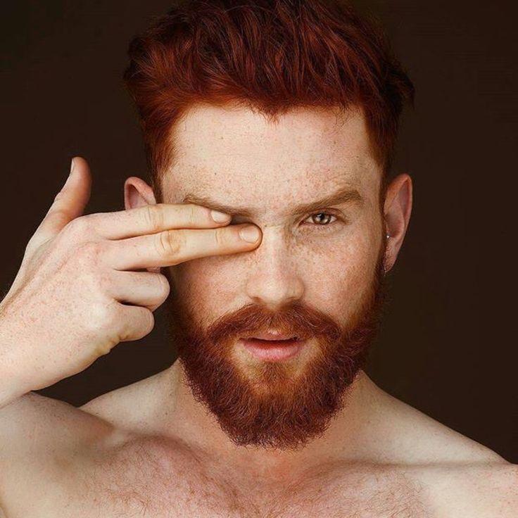Redhead with beard #6