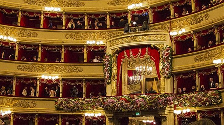 Il palco reale del Teatro alla Scala di Milano - Royal box of Theatre alla Scala in Milan