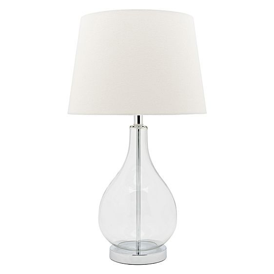 For a fresh and contemporary sense of illumination in your home opt for the Gina Table Lamp, White from Cougar Lighting.
