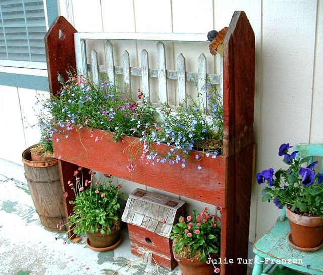 Best 25+ Fence Planters Ideas On Pinterest