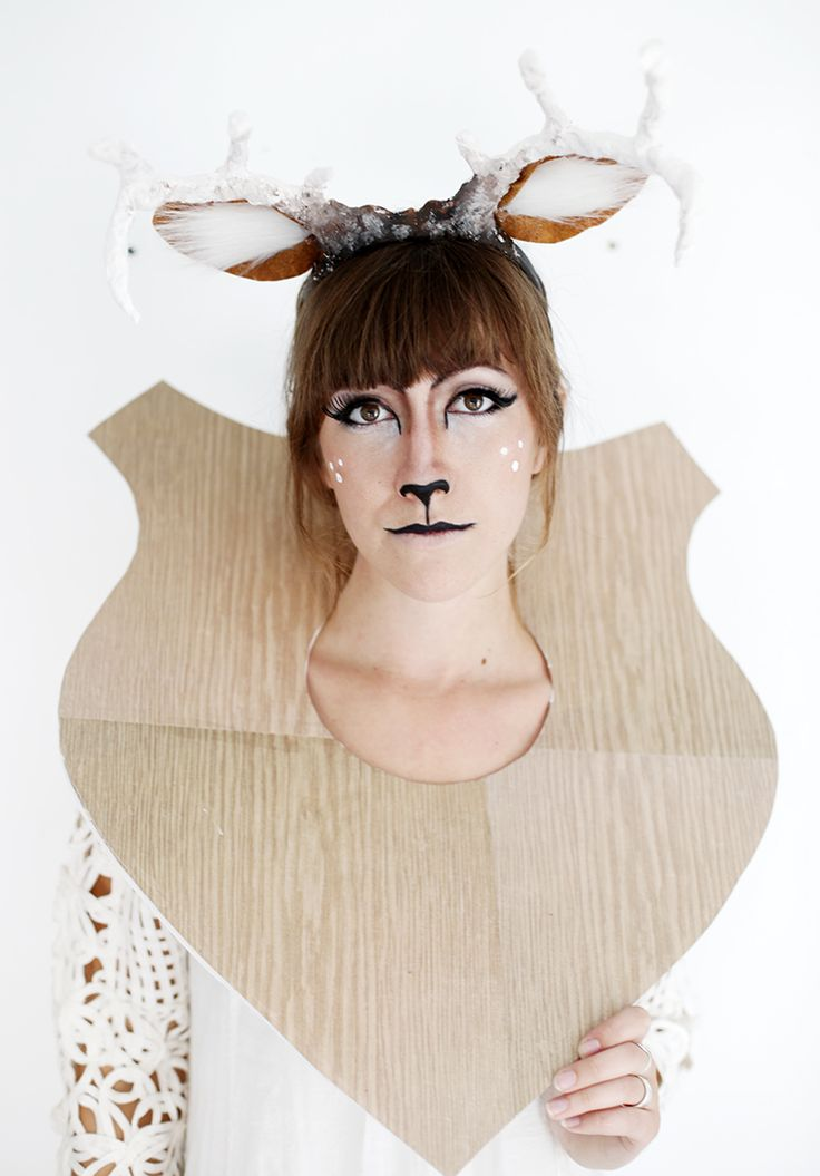 DIY Taxidermy Deer Costume from MichaelsMakers The Merry Thought
