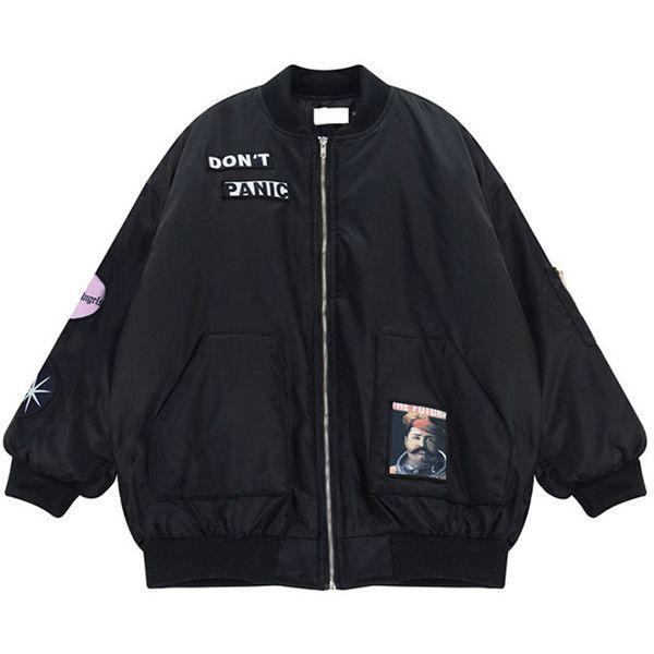 Chicnova Fashion Cotton Padded Jacket ($32) ❤ liked on Polyvore featuring outerwear, jackets, pattern jacket, print jacket, padded jacket と cotton jacket