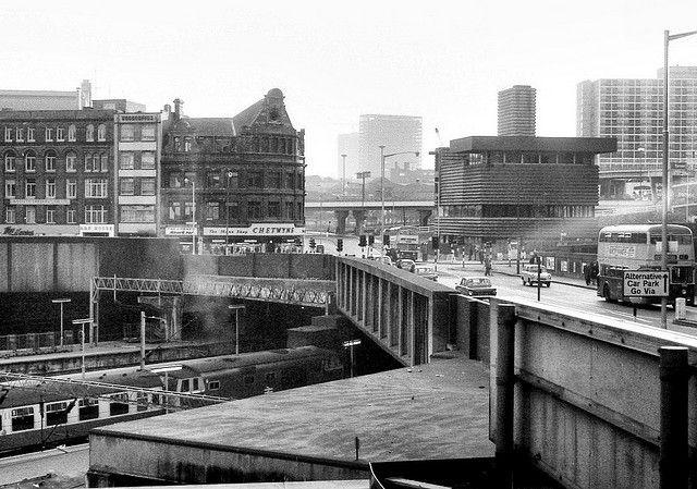 Birmingham New Street Spring 1973