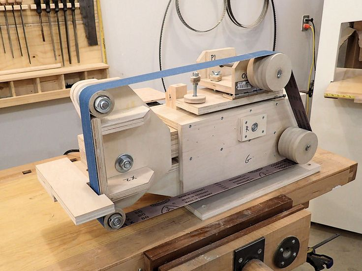 Knife Belt Grinder Plans Woodworking Projects Amp Plans