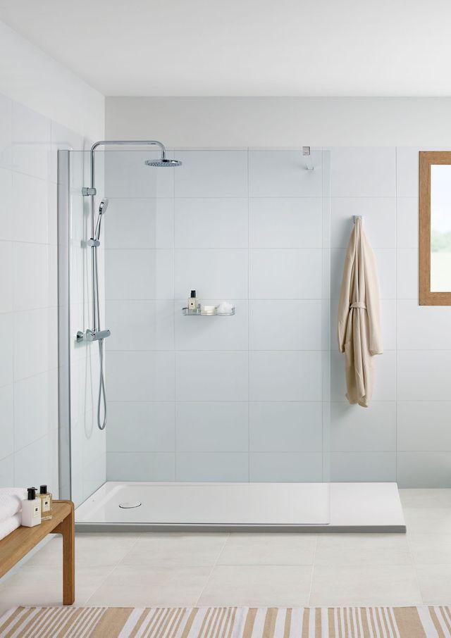 douche avec receveur extra plat quel mod le choisir receveur extra plat acryliques et plat. Black Bedroom Furniture Sets. Home Design Ideas