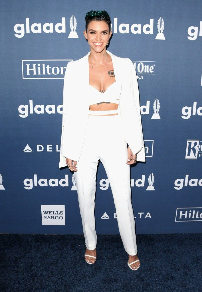 Ruby Rose  Wearing Aquilano Rimondi - 2016 GLAAD Media Awards - http://www.becauseiamfabulous.com/2016/04/05/ruby-rose-wearing-aquilano-rimondi-2016-glaad-media-awards/