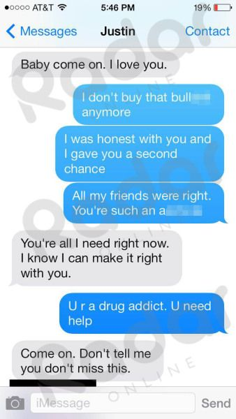 Read: The X-Rated Nude Photos Justin Bieber Sexted Selena Gomez After She Called Him 'A Drug Addict'   Radar Online