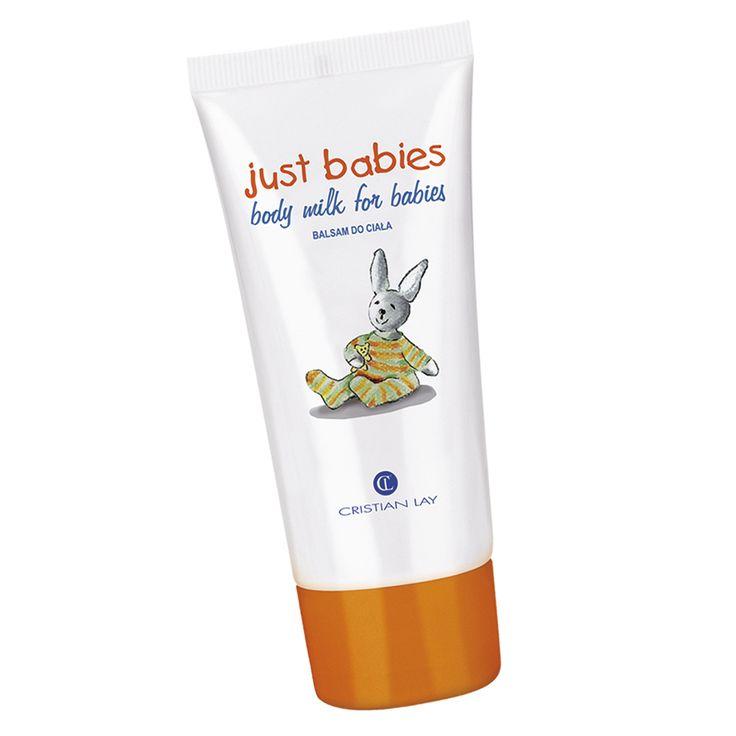CRISTAN LAY pensa ai più piccoli della casa offrendo prodotti per la loro cura come il Body Milk Just Babies, un balsamo idratante per bebè con olio di oliva, burro di karité e estratto di camomilla.