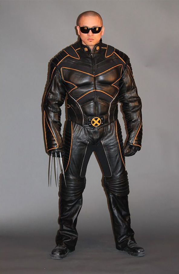 Wolverine X-Men Movie Replica Motorcycle Suit  - Officially Licensed