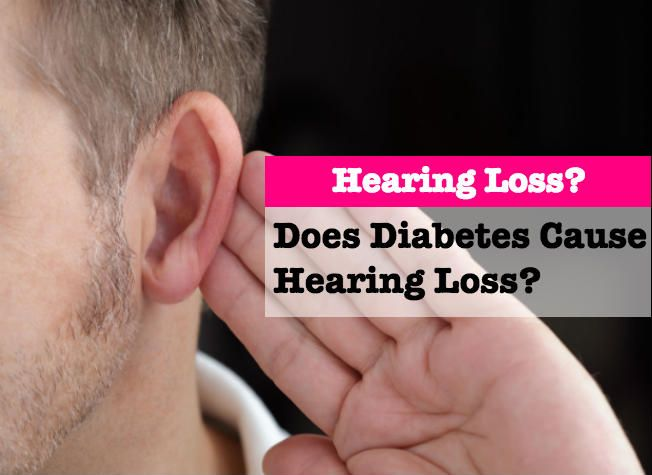 Does Diabetes Cause Hearing Loss, Diabetes, telephone, amplifiers,hearing aids,Conductive hearing impairment, Sensorineural deafness, research, studies, NIH