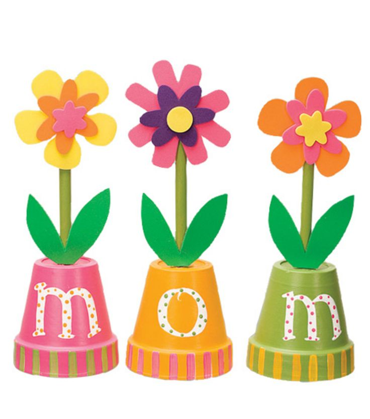 Flower Pot Mother's Day Craft from Jo-Ann Fabric and Craft Stores