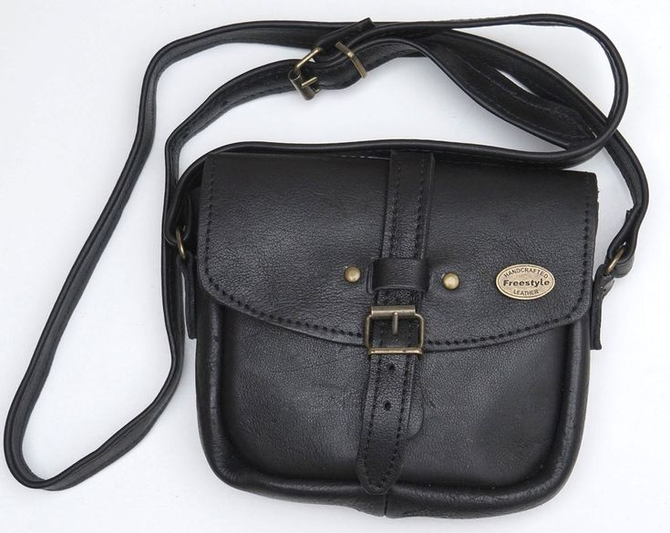 Freestyle Antoinette Black Handmade Genuine Leather Handbag. R 599. Handcrafted in Cape Town, South Africa. Shop online http://www.thewhatnotshoes.co.za Free delivery within South Africa.