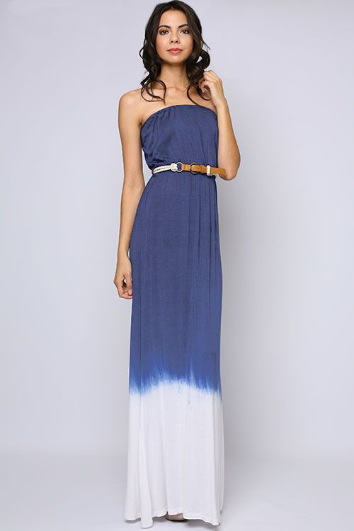 Skylar Watercolor Maxi Dress