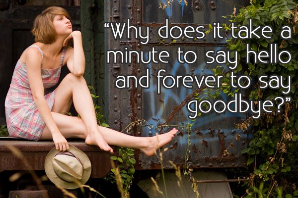 Quotes About Saying Goodbye: Sad & Touching Farewell Sayings | Gurl.com