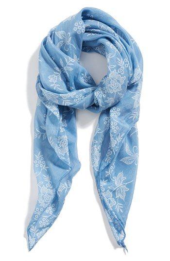 floral scarf / nordstrom