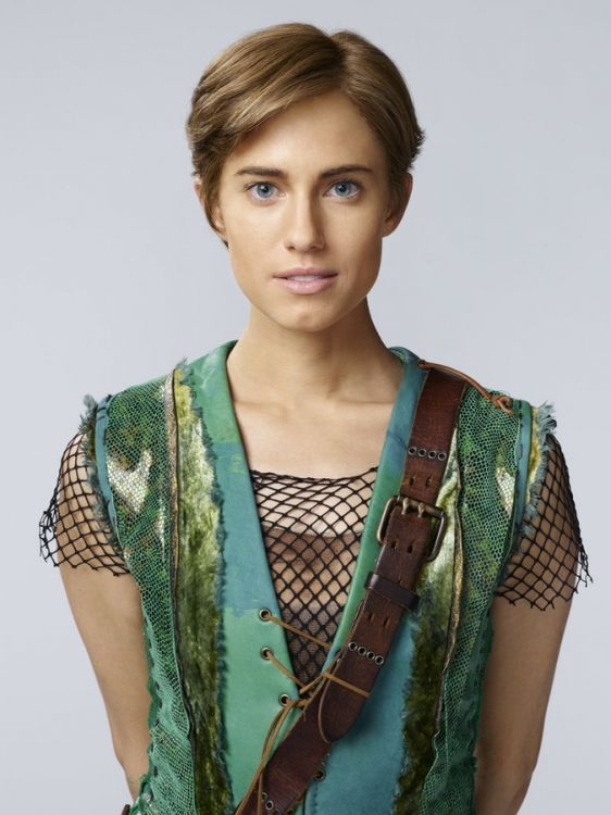 High Res PETER PAN LIVE! -- Season: 2014 -- Pictured: Allison Williams as Peter Pan -- (Photo by: Patrick Randak/NBC)  FOR YOU JESSICA G!!!