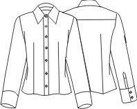 Camisa Feminina - Fazendo o molde.: Female Shirt, Moldings De Roupa Feminina, Moda Moldes, Moldes Livros, Feminine Blouse, Blusas Femininas, Camisas Femininas, Moldes Costura, Moldes Roupa