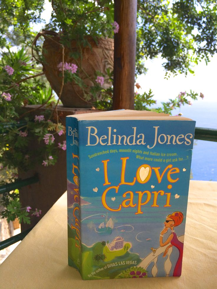 This is the original UK cover for I Love Capri complete with mirror-foil heart!   10 years on I took the book for a trip to the origin of its inspiration...