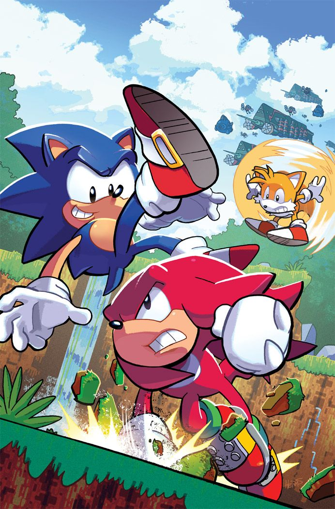 Sonic the Hedgehog 291 Variant by herms85 on DeviantArt