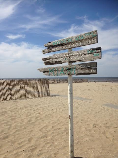 Katwijk aan Zee, net een kaart he. Trots