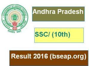 AP SSC Result 2016, Andhra Pradesh 10th Result 2016, bseap.org,AP SSC Result 2016,AP 10th Result 2016,AP 10th class Result 2016,