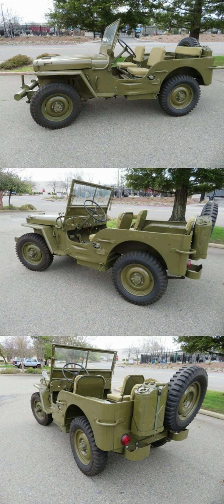 1942 Jeep Willys Mb Willys Jeep Willys Mb