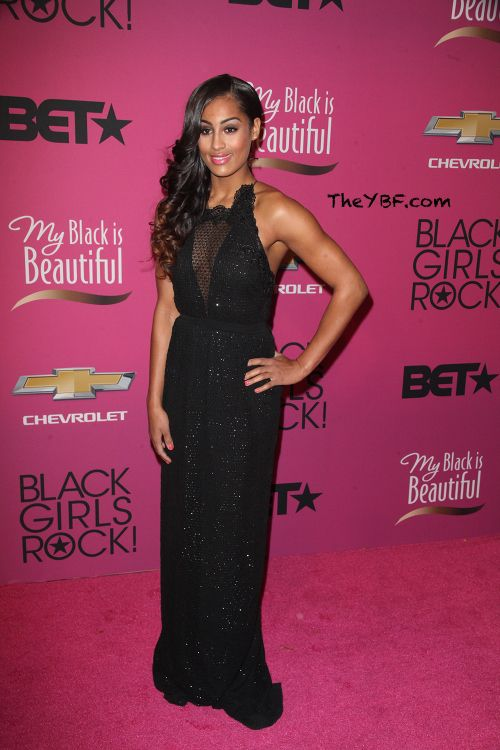 Fabulously Spotted: Skylar Diggins Wearing Gucci - 2013 BET Black Girls Rock - http://www.becauseiamfabulous.com/2013/10/fabulously-spotted-skylar-diggins-wearing-gucci-2013-bet-black-girls-rock/