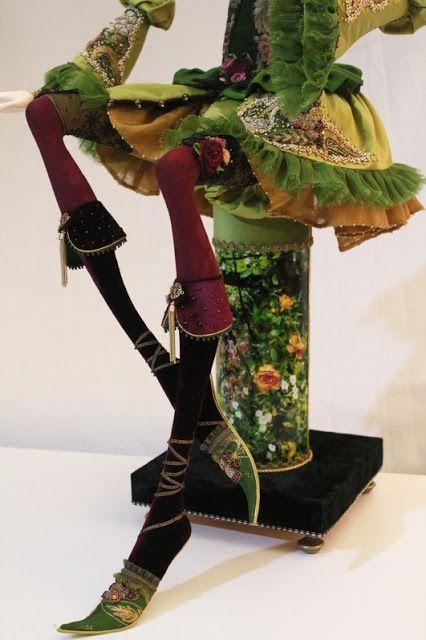 Кукольная мастерская ANNADAN: Подставка для куклы готова