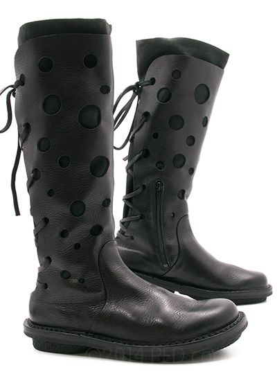 Funky and fantastic, the Trippen Foam is a whole lot of look, but it sure looks good! xo, Ped Shoes. #Trippen #boots #tall_boots #shoes