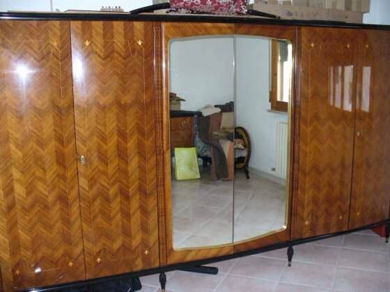 armadio della camera da letto  anni '70