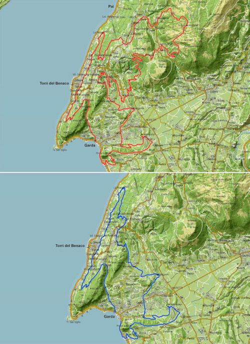 Domenica 19 aprile 2015 si svolgono la MTB Garda Marathon e la Granfondo Città di Garda di cui proponiamo il percorso @gardaconcierge