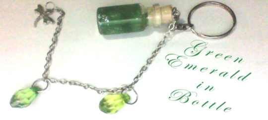 Tiny Bottle Charm or Keychain Rp 30.000