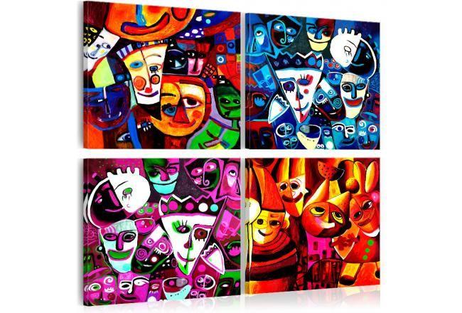 Cuadro decorativo Circo #cuadro #cuadros #infantiles