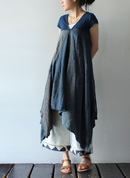 Dress could be made from upcycled men's shirts
