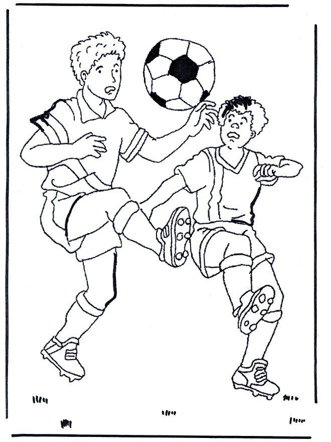 ausmalbilder fussball zum ausdrucken