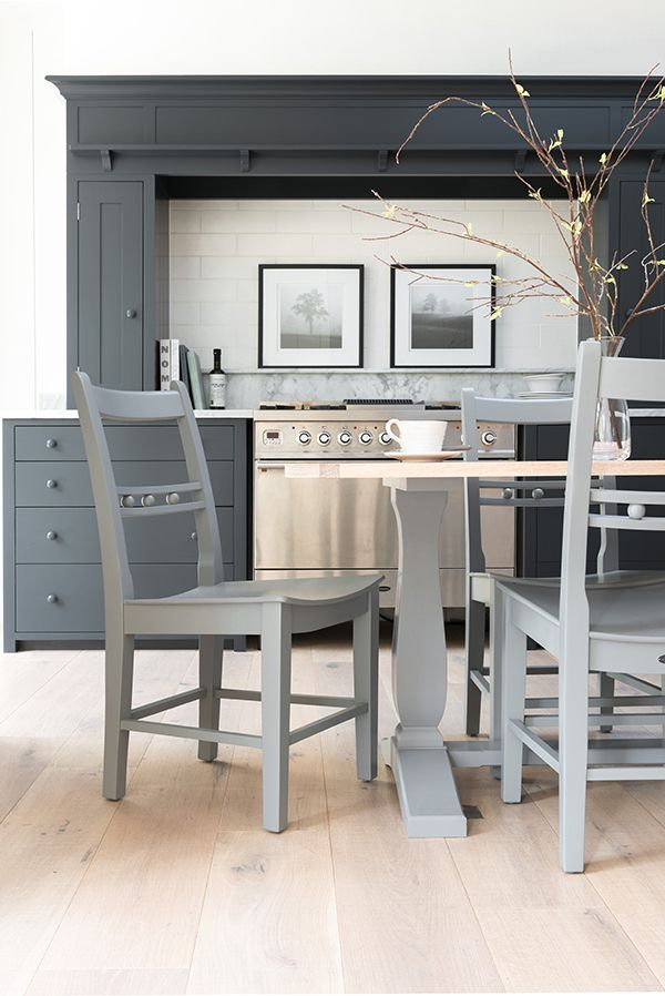 Grey tones will always remain classy. Team with contrasting bright whites for a Scandinavian feel, creating a clean and simple new look. www.neptune.com #neptune #springtrends