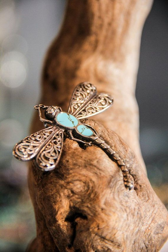 DRAGONFLY PENDANT can also be used as a pin  by MoyokSilver  $33.50 USD