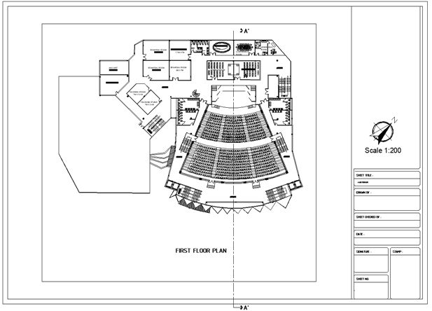 Pin On Cinema Cad Drawings Collection Cinema Design Autocad Blocks Cinema Details Cinema Section Cinema Elevation Design Drawings