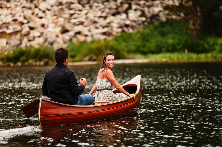 Outdoor Rustic Engagement Photos on the Lake  | photos by http://ritatemplephotography.com | see more http://www.thebridelink.com/blog/2013/06/10/outdoor-rustic-engagement-photos/