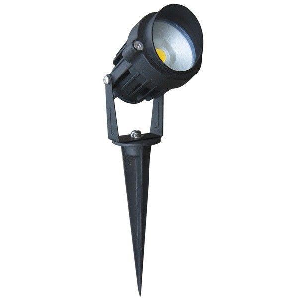 Garden spike light 6W LED - Black aluminium 6W LED garden spike light - Price: $69.00 AUD