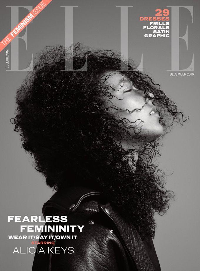 Алиша Киз для ELLE UK (Интернет-журнал ETODAY)